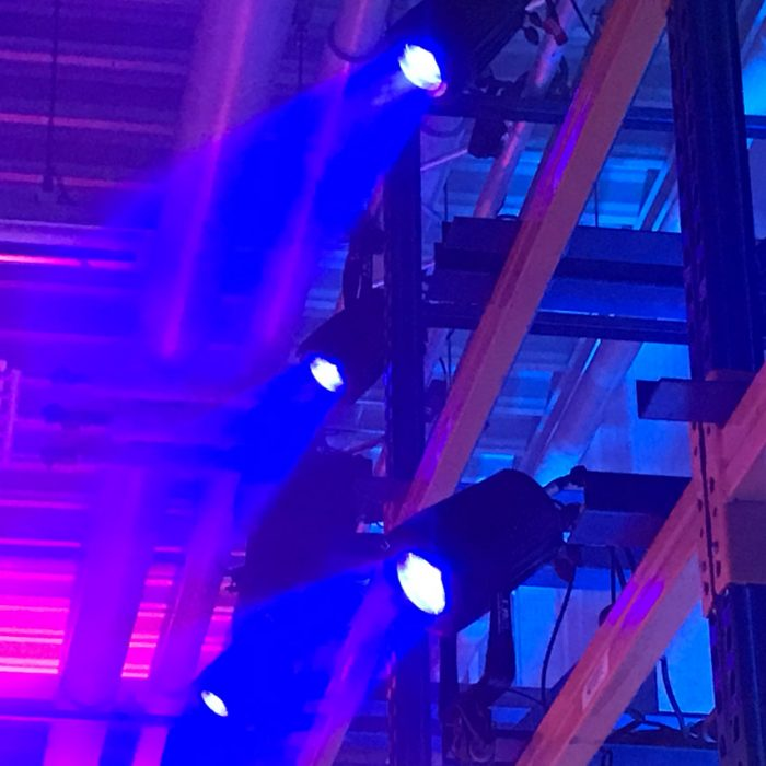 AUDIO-SYSTEME - Firmenevent - Bühnenbeleuchtung